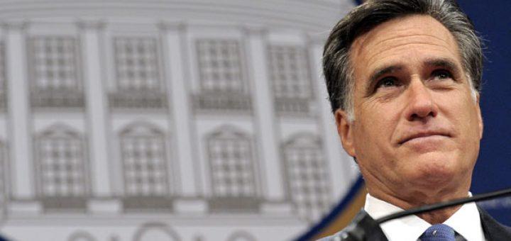 Republican presidential candidate Mitt Romney pictured in Washington, D.C., Dec. 7, 2011.