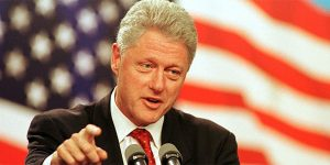 Bill Clinton, pictured in 1998