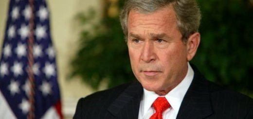 President George W. Bush delivers a statement regarding the sanctity of marriage in the Roosevelt Room Tuesday, Feb. 24, 2004.
