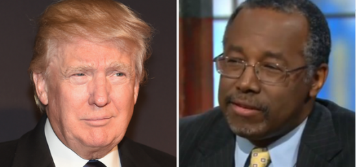 Donald Trump and Ben Carson
