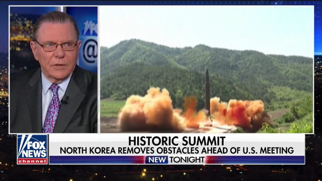 Gen. Jack Kean analyzes the sudden concession by North Korea to discontinue its nuclear weapons program shortly after removing the requirement that the U.S. remove its military presence. (Fox News @ Night, April 20, 2018)