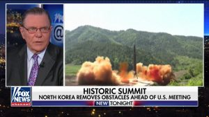 Gen. Jack Kean analyzes the sudden concession by North Korea to discontinue its nuclear weapons program shortly after removing the requirement that the U.S. remove its military presence. (Fox News @ Night (April 20, 2018)