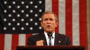 President George W. Bush address to the nation and joint session of Congress, Sept. 20 (Eric Draper, public domain)