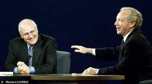Dick Cheney and Joseph Lieberman