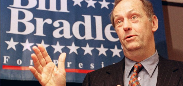 Image of 2000 Presidential candidate Bill Bradley