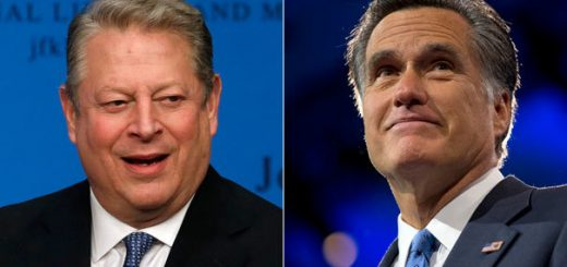 Al Gore and Mitt Romney.