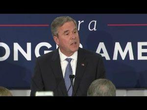 Jeb Bush suspends his 2016 Presidential campaign
