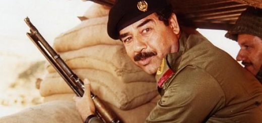 Saddam Hussein in the Iran-Iraq war in the 1980s.
